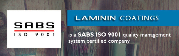 SL-LAMININ PAINTS: SABS approved