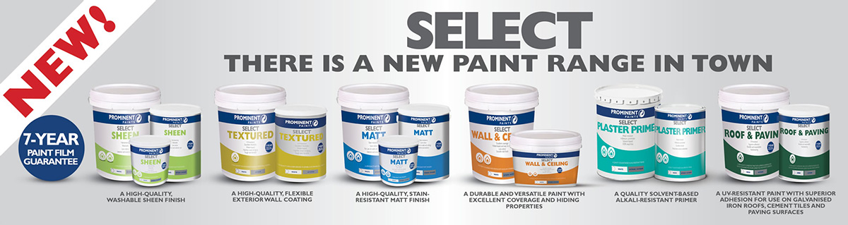 Prominent Paints New Paint Range
